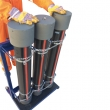 Fluid pipe trolley