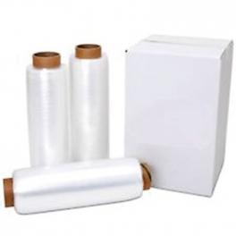 White stretch wrap